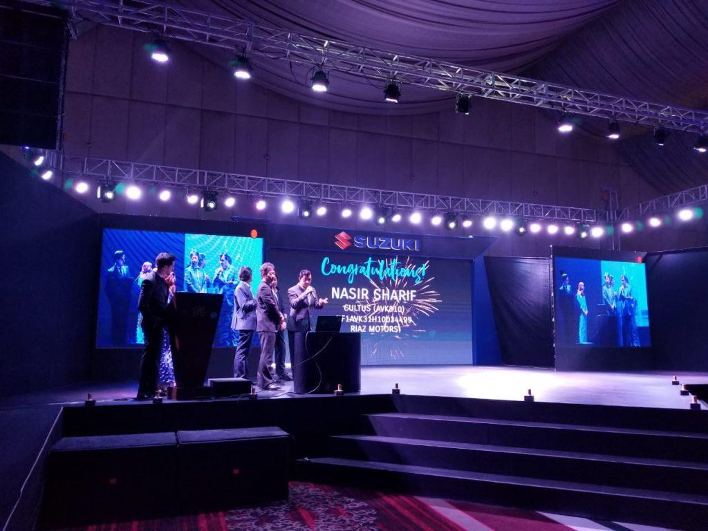 Suzuki holds a grand event in Karachi